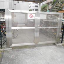 自転車置き場門扉